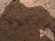 NASA's Mars rover Curiosity acquired this image using its Mars Hand Lens Imager (MAHLI) on Sol 1577