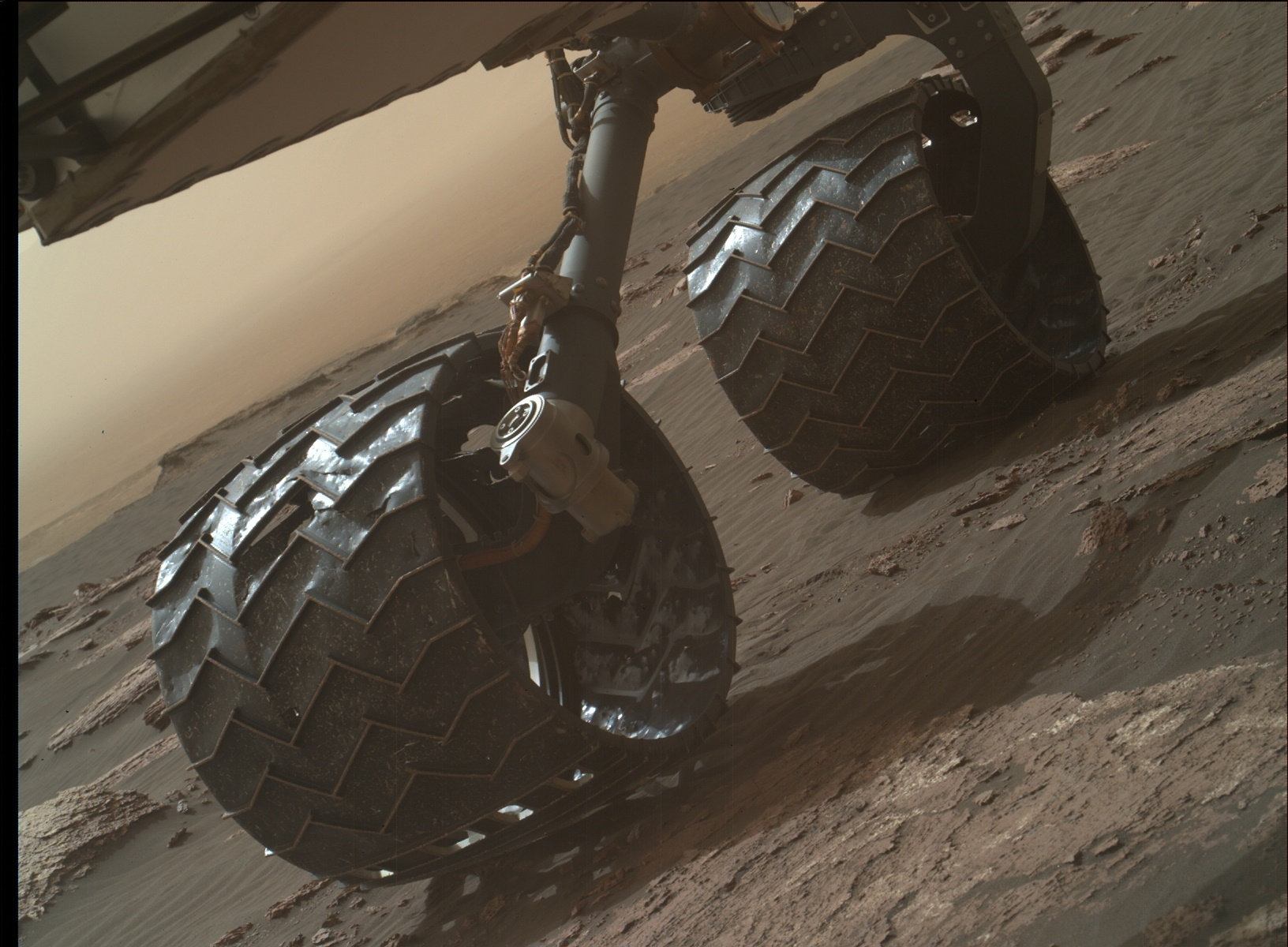 Nasa's Mars rover Curiosity acquired this image using its Mars Hand Lens Imager (MAHLI) on Sol 1641