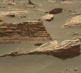 NASA's Mars rover Curiosity acquired this image using its Mast Camera (Mastcam) on Sol 1661
