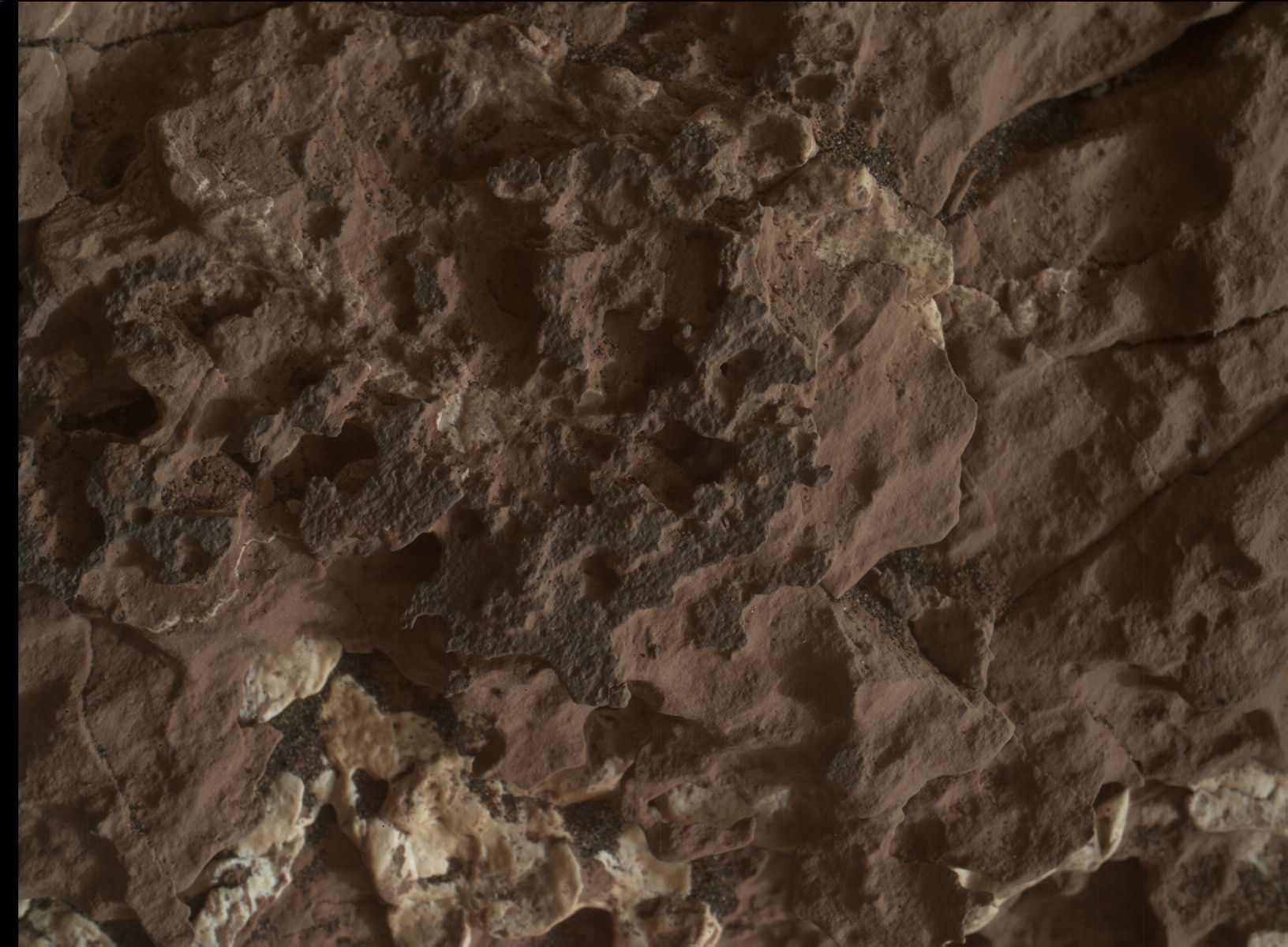 Nasa's Mars rover Curiosity acquired this image using its Mars Hand Lens Imager (MAHLI) on Sol 1661
