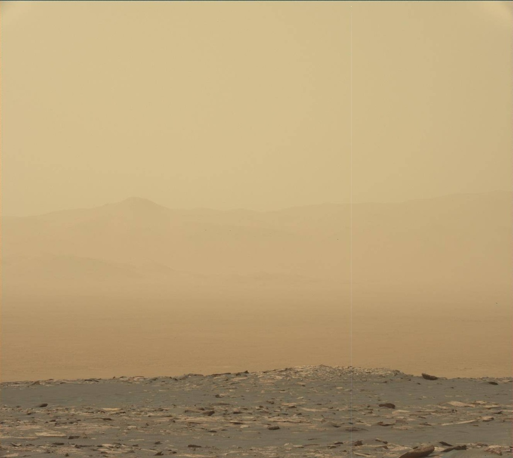NASA's Mars rover Curiosity acquired this image using its Mast Camera (Mastcam) on Sol 1670