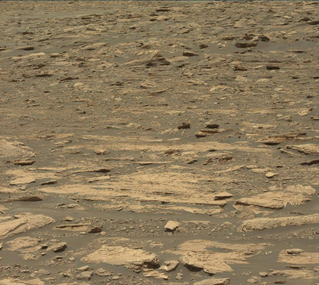 NASA's Mars rover Curiosity acquired this image using its Mast Camera (Mastcam) on Sol 1676