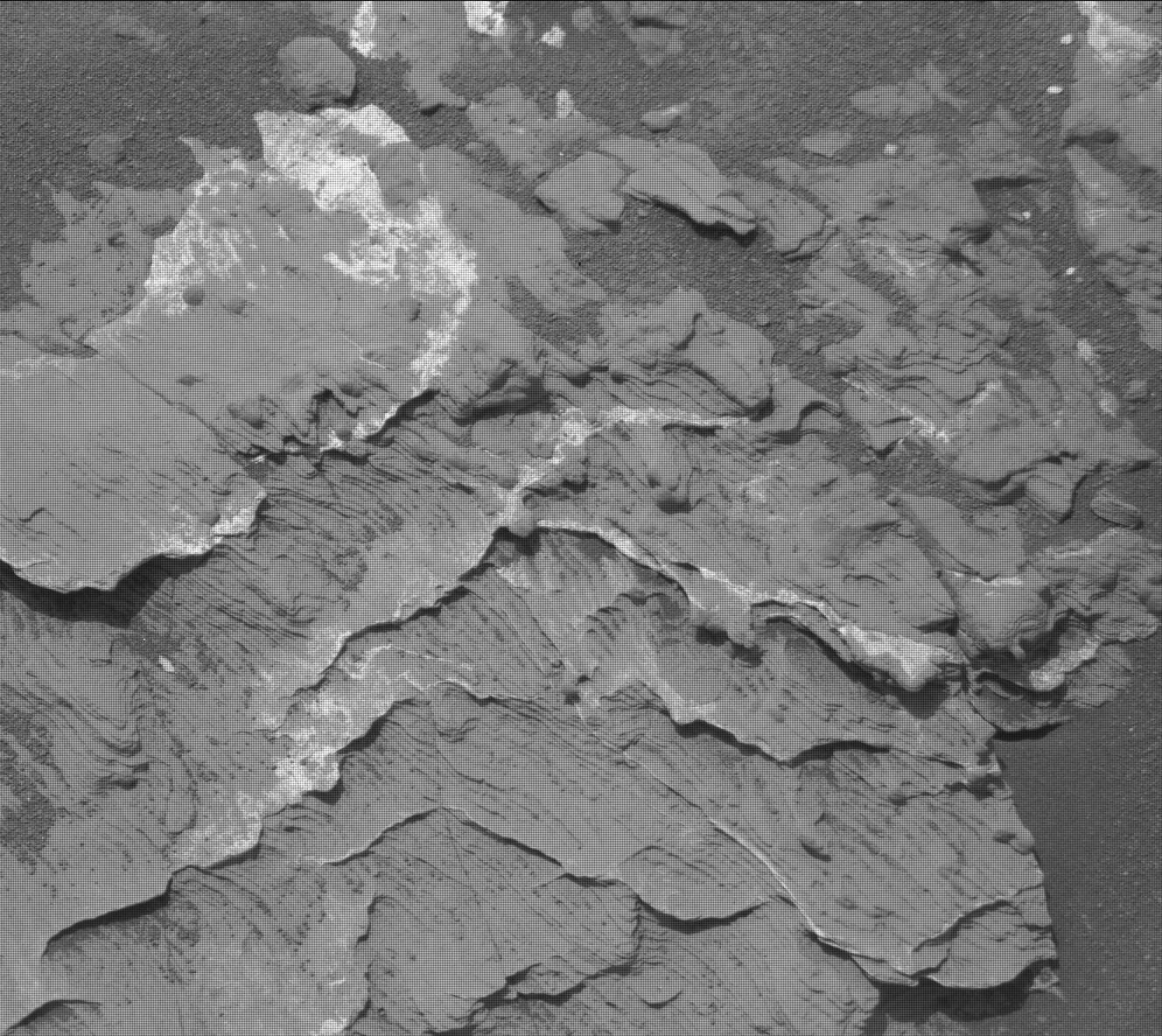 Nasa's Mars rover Curiosity acquired this image using its Mast Camera (Mastcam) on Sol 1680