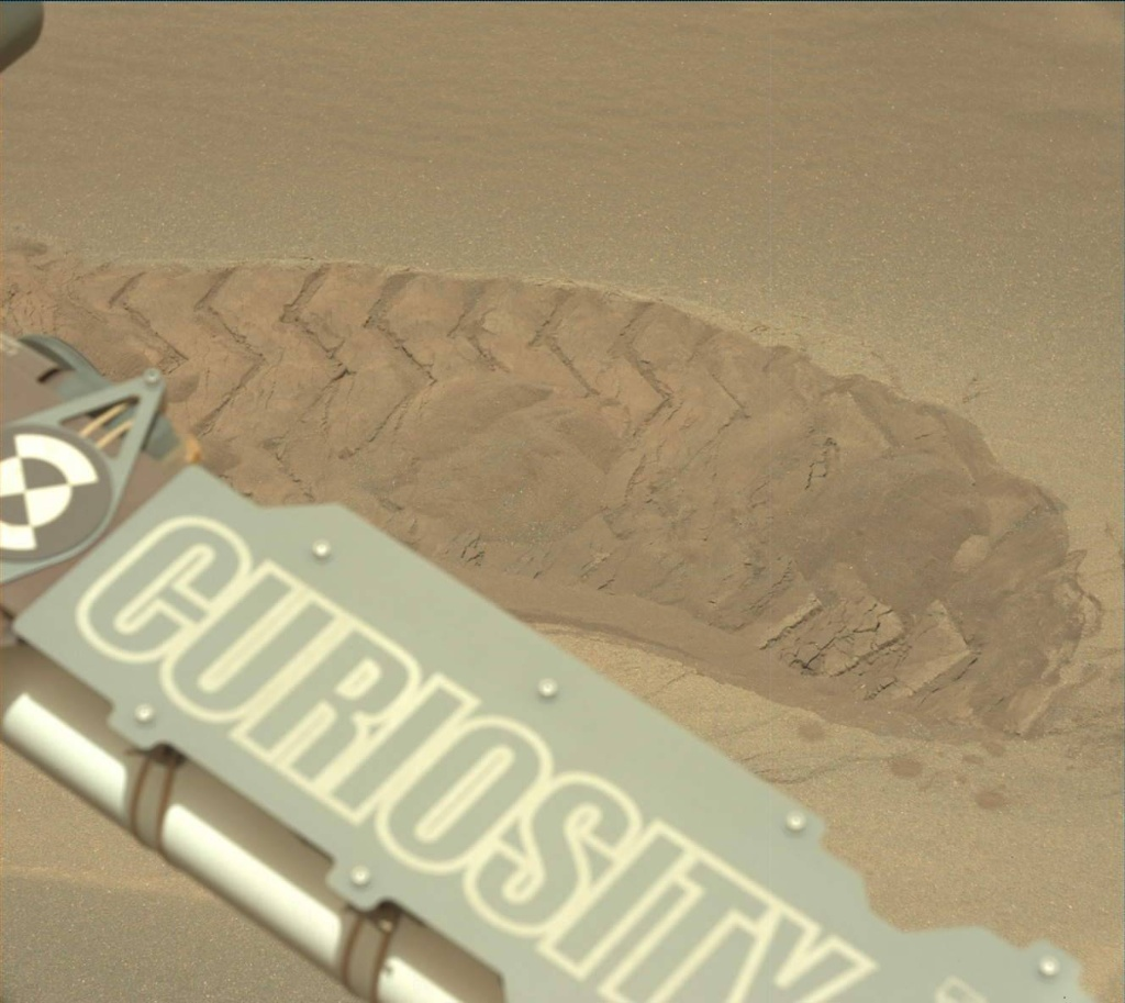 NASA's Mars rover Curiosity acquired this image using its Mast Camera (Mastcam) on Sol 1686