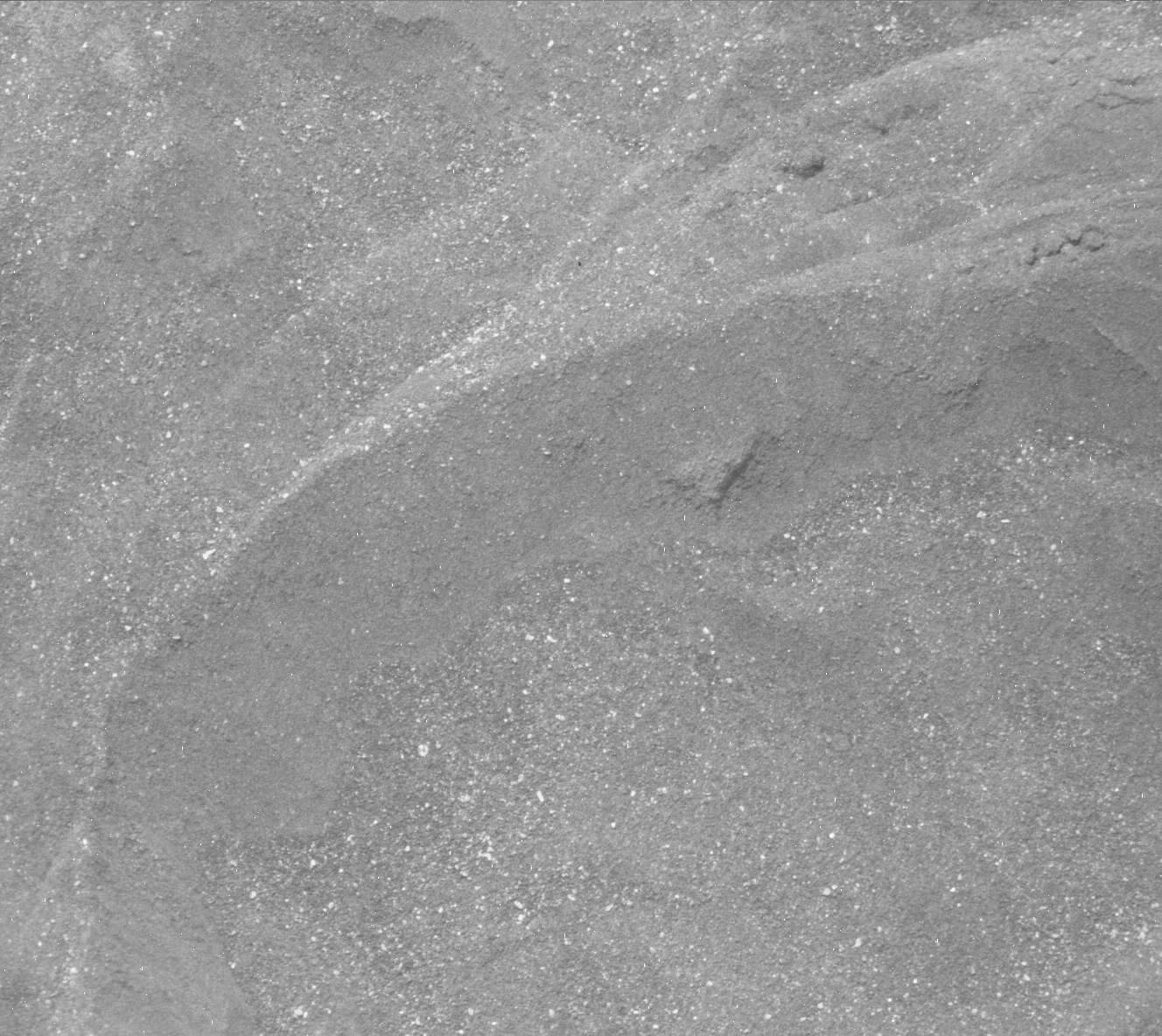 Nasa's Mars rover Curiosity acquired this image using its Mast Camera (Mastcam) on Sol 1687