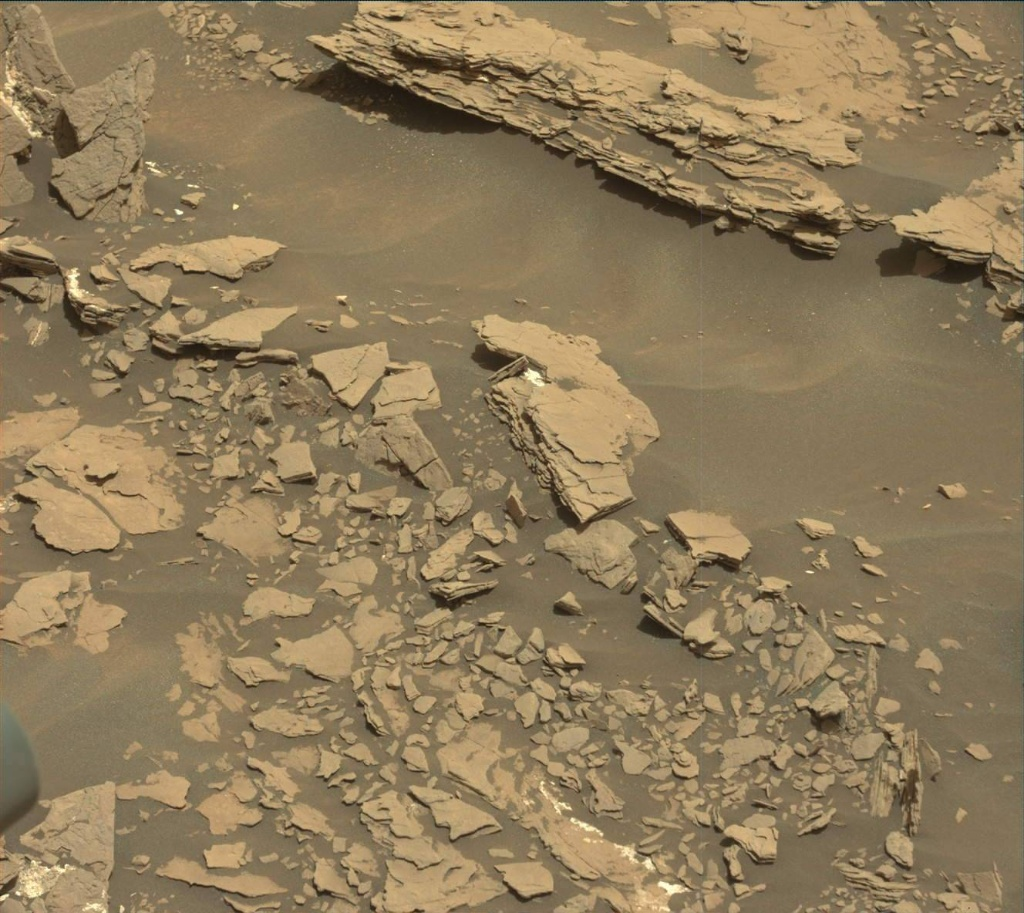 NASA's Mars rover Curiosity acquired this image using its Mast Camera (Mastcam) on Sol 1691