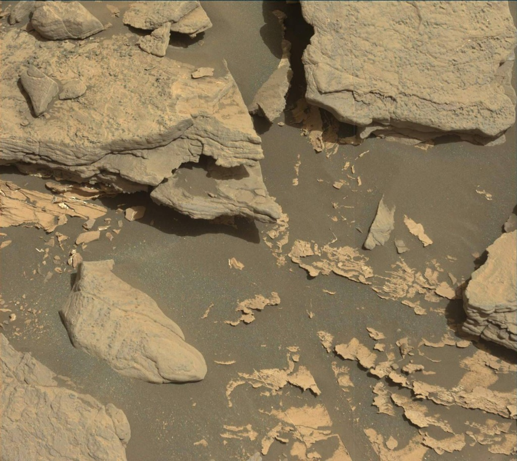 NASA's Mars rover Curiosity acquired this image using its Mast Camera (Mastcam) on Sol 1712