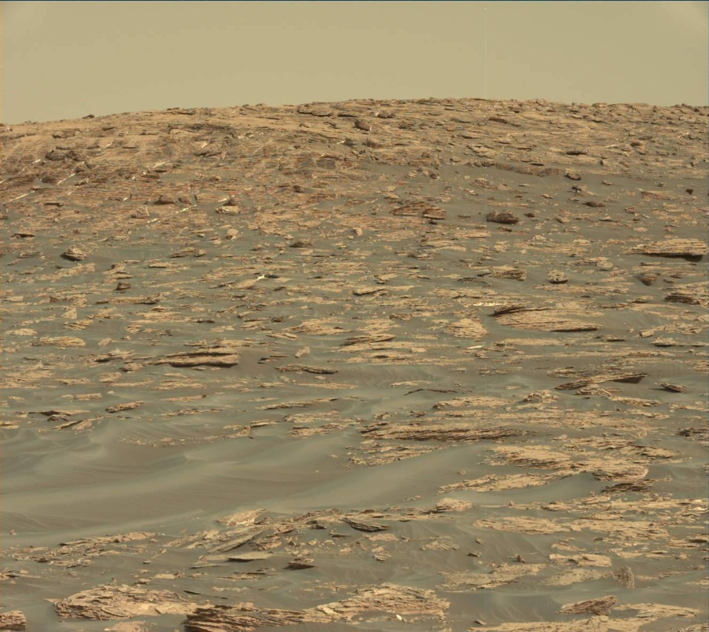 NASA's Mars rover Curiosity acquired this image using its Mast Camera (Mastcam) on Sol 1732