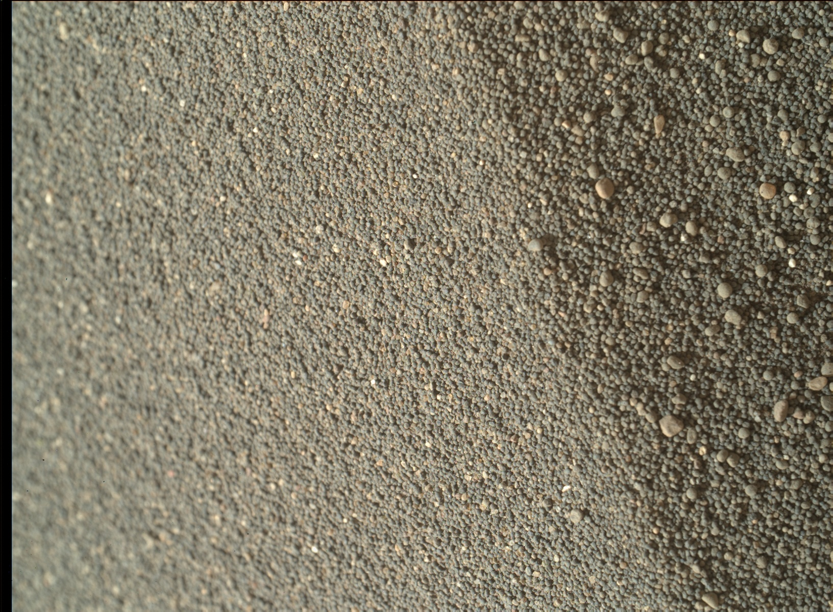 Nasa's Mars rover Curiosity acquired this image using its Mars Hand Lens Imager (MAHLI) on Sol 1749