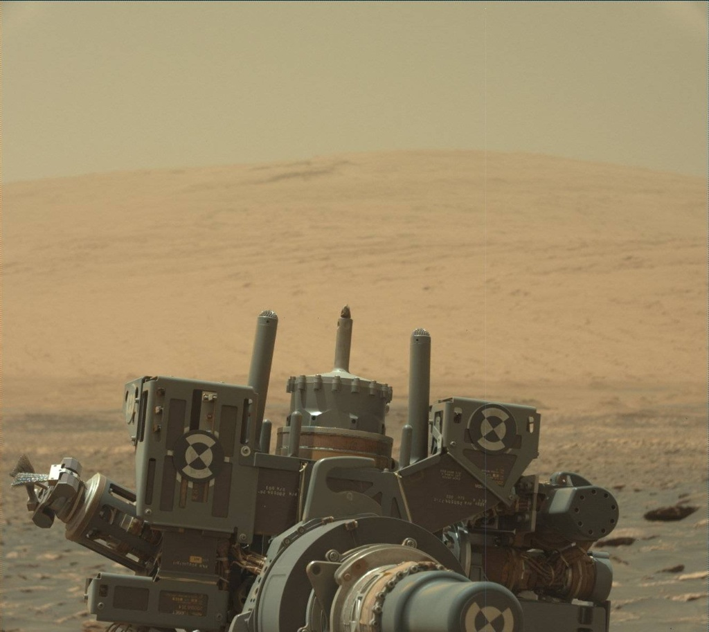 NASA's Mars rover Curiosity acquired this image using its Mast Camera (Mastcam) on Sol 1757