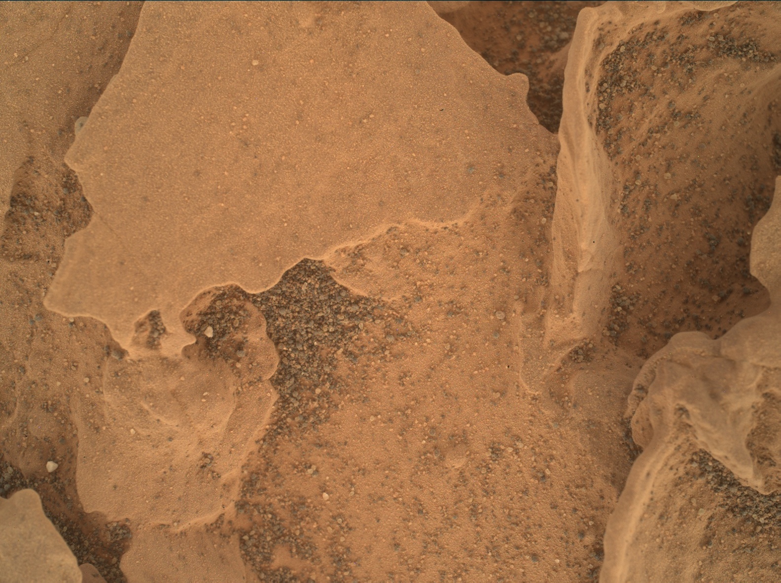 Nasa's Mars rover Curiosity acquired this image using its Mars Hand Lens Imager (MAHLI) on Sol 1800