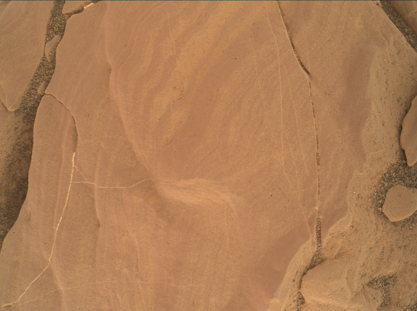 Nasa's Mars rover Curiosity acquired this image using its Mars Hand Lens Imager (MAHLI) on Sol 1811