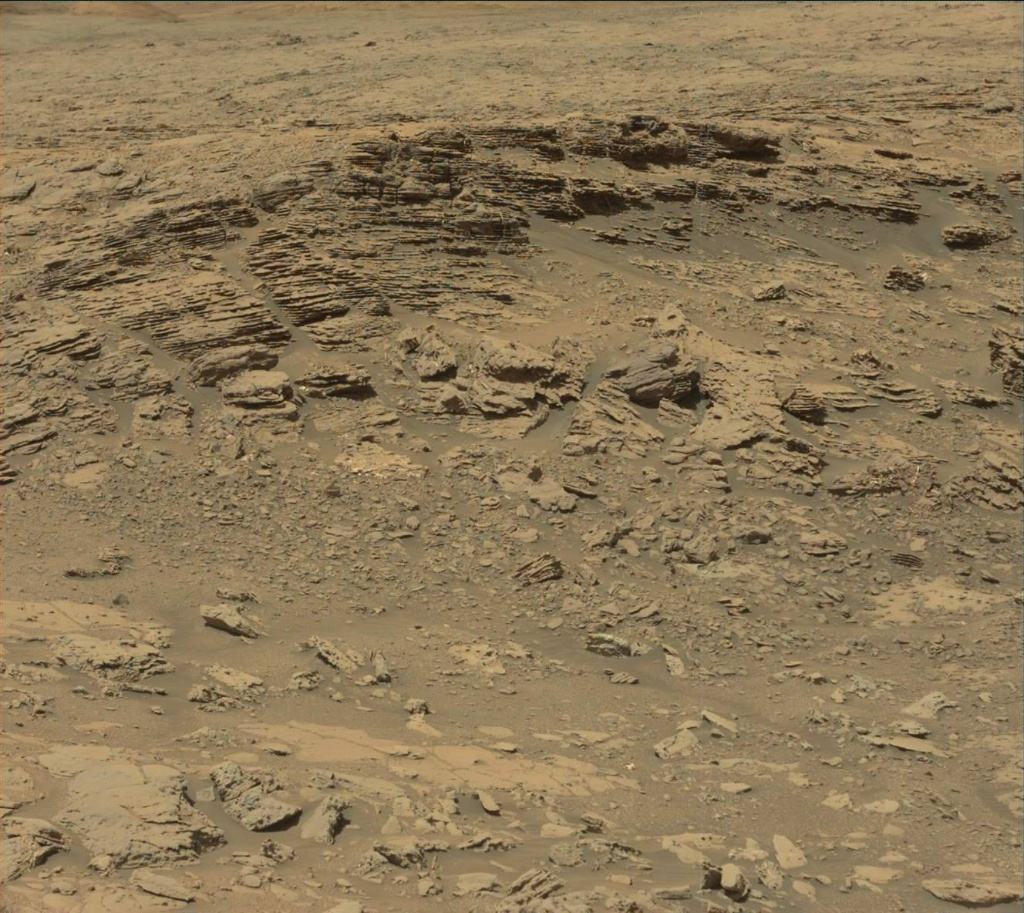 NASA's Mars rover Curiosity acquired this image using its Mast Camera (Mastcam) on Sol 1866