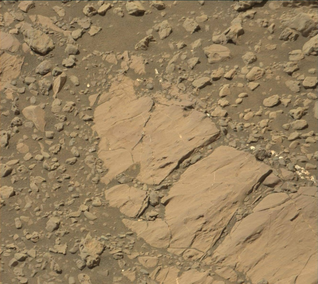 NASA's Mars rover Curiosity acquired this image using its Mast Camera (Mastcam) on Sol 1873