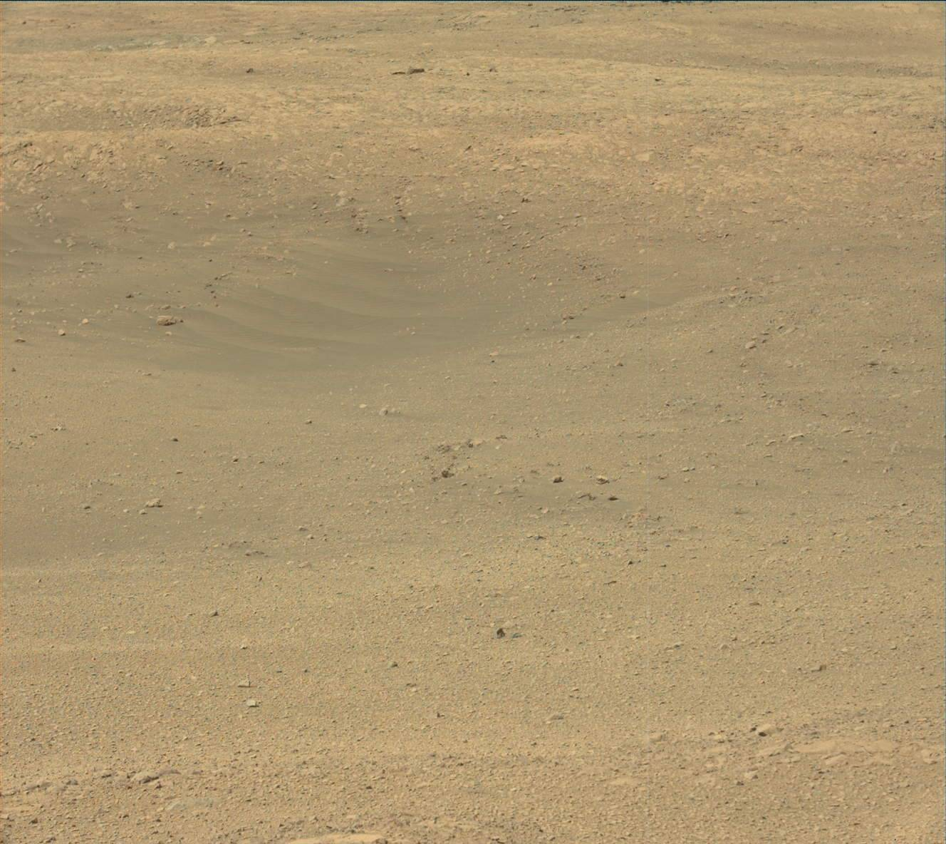 Nasa's Mars rover Curiosity acquired this image using its Mast Camera (Mastcam) on Sol 1894
