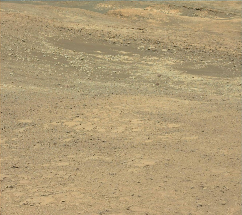 NASA's Mars rover Curiosity acquired this image using its Mast Camera (Mastcam) on Sol 1896