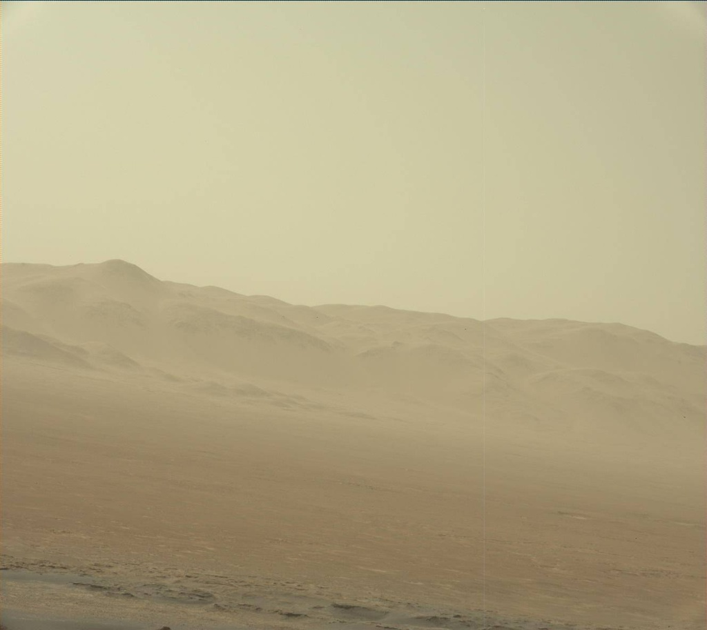 NASA's Mars rover Curiosity acquired this image using its Mast Camera (Mastcam) on Sol 1907