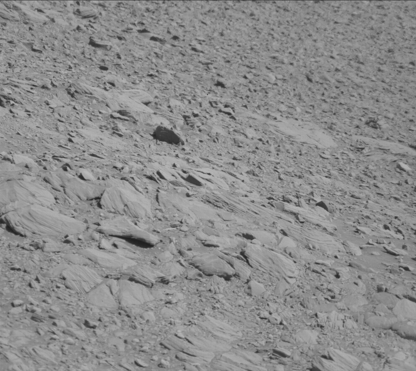Nasa's Mars rover Curiosity acquired this image using its Mast Camera (Mastcam) on Sol 1911