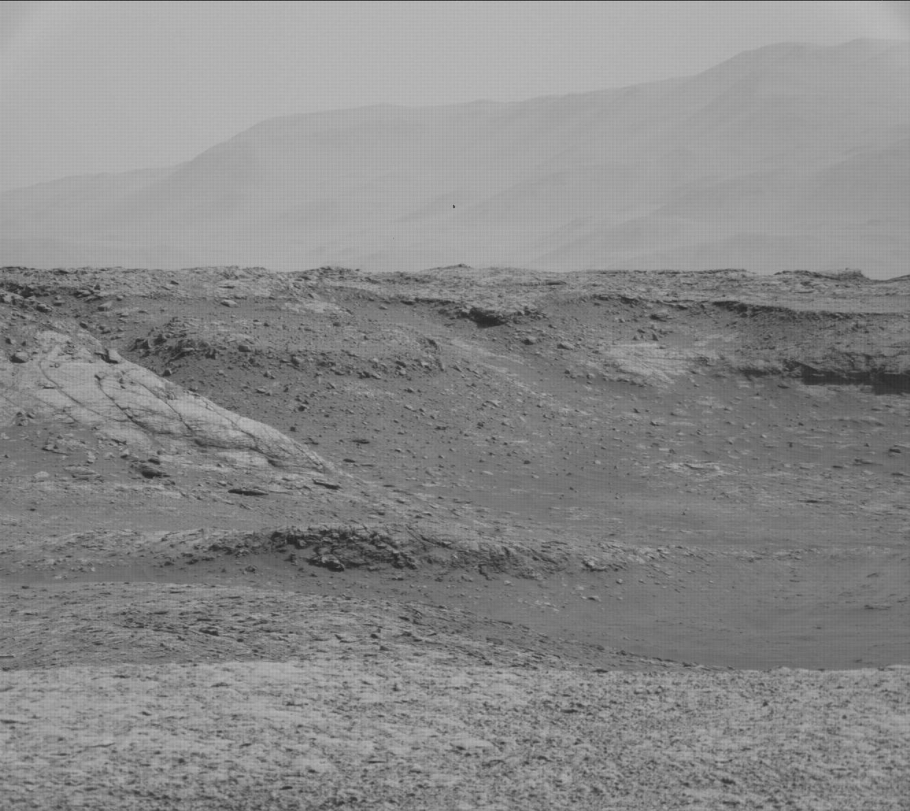 Nasa's Mars rover Curiosity acquired this image using its Mast Camera (Mastcam) on Sol 1931