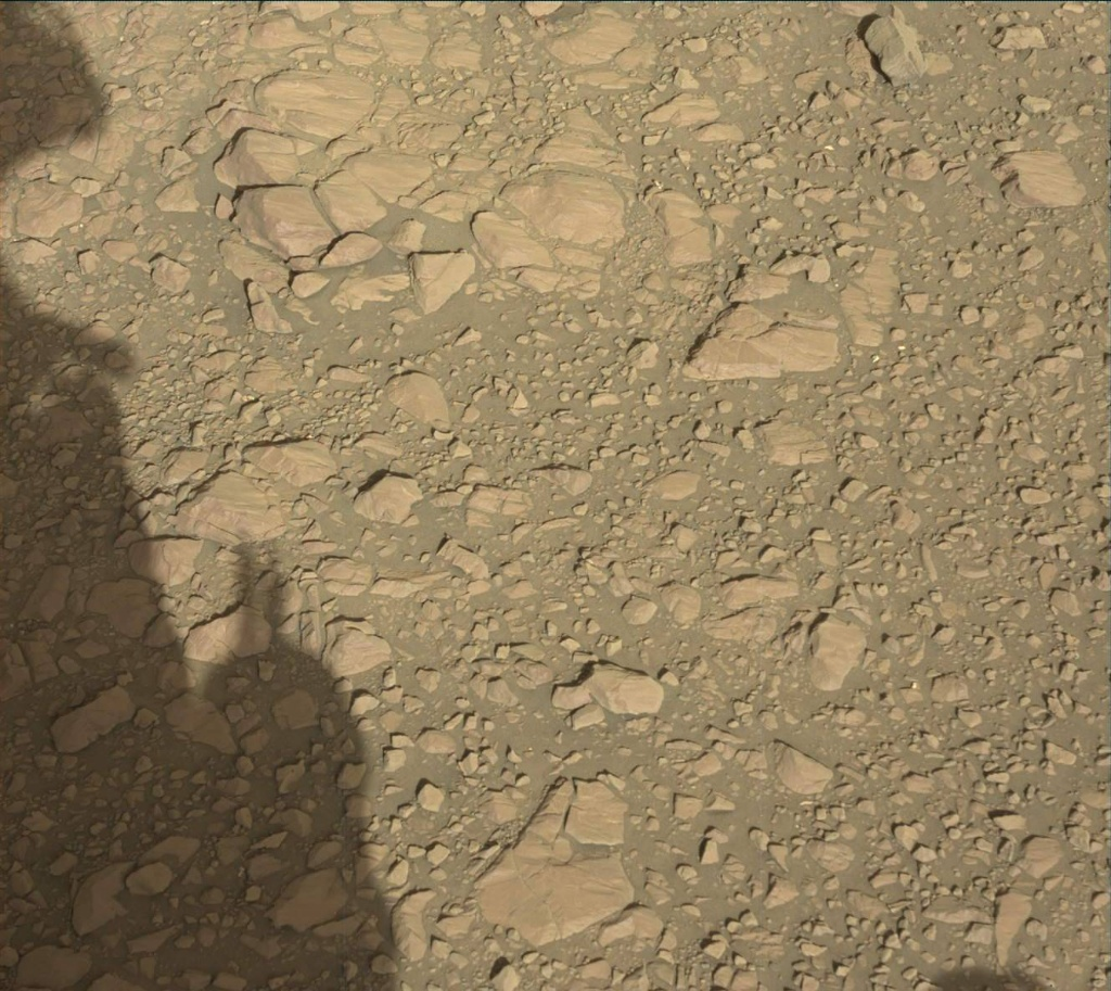 NASA's Mars rover Curiosity acquired this image using its Mast Camera (Mastcam) on Sol 1950