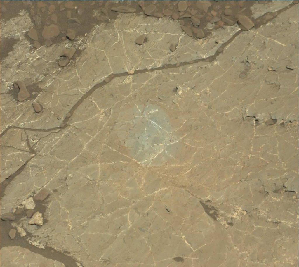 NASA's Mars rover Curiosity acquired this image using its Mast Camera (Mastcam) on Sol 1964