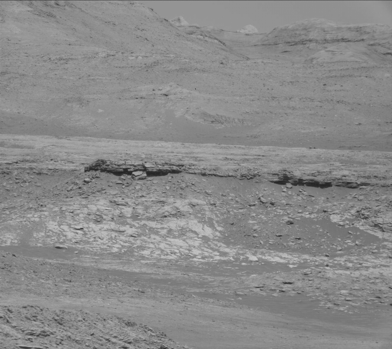 Nasa's Mars rover Curiosity acquired this image using its Mast Camera (Mastcam) on Sol 1984
