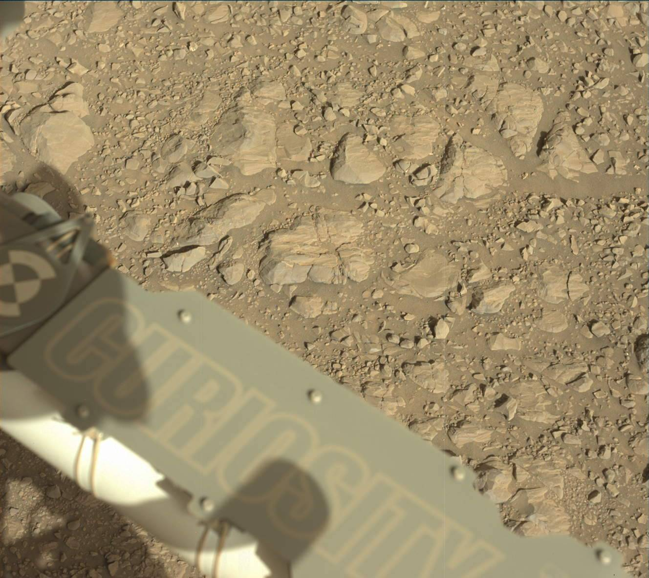 Nasa's Mars rover Curiosity acquired this image using its Mast Camera (Mastcam) on Sol 1986