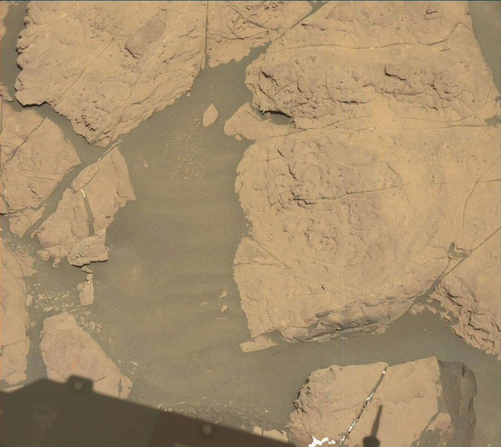 NASA's Mars rover Curiosity acquired this image using its Mast Camera (Mastcam) on Sol 1999