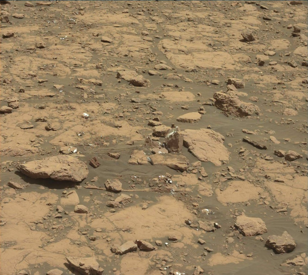 NASA's Mars rover Curiosity acquired this image using its Mast Camera (Mastcam) on Sol 2005