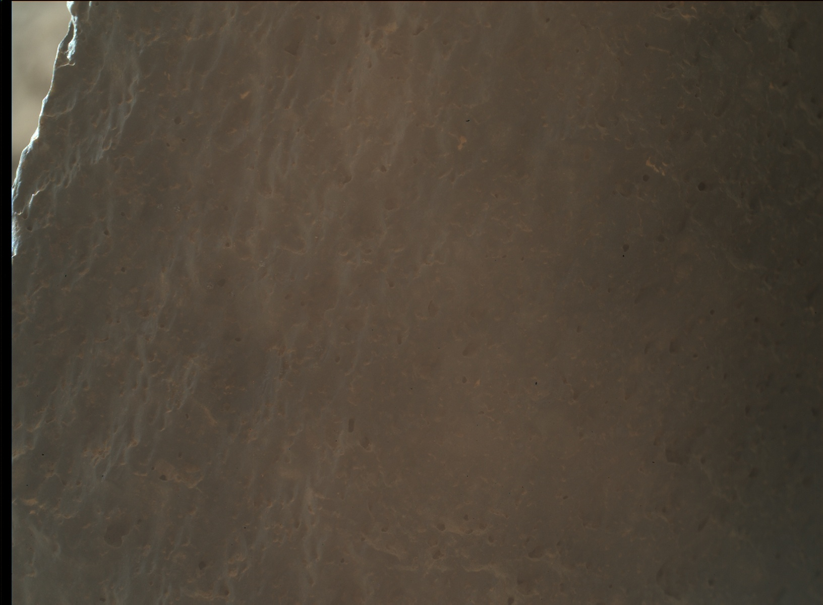 Nasa's Mars rover Curiosity acquired this image using its Mars Hand Lens Imager (MAHLI) on Sol 2016