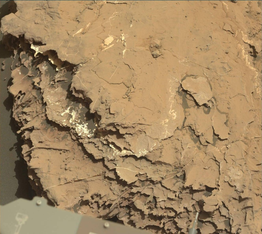 NASA's Mars rover Curiosity acquired this image using its Mast Camera (Mastcam) on Sol 2047