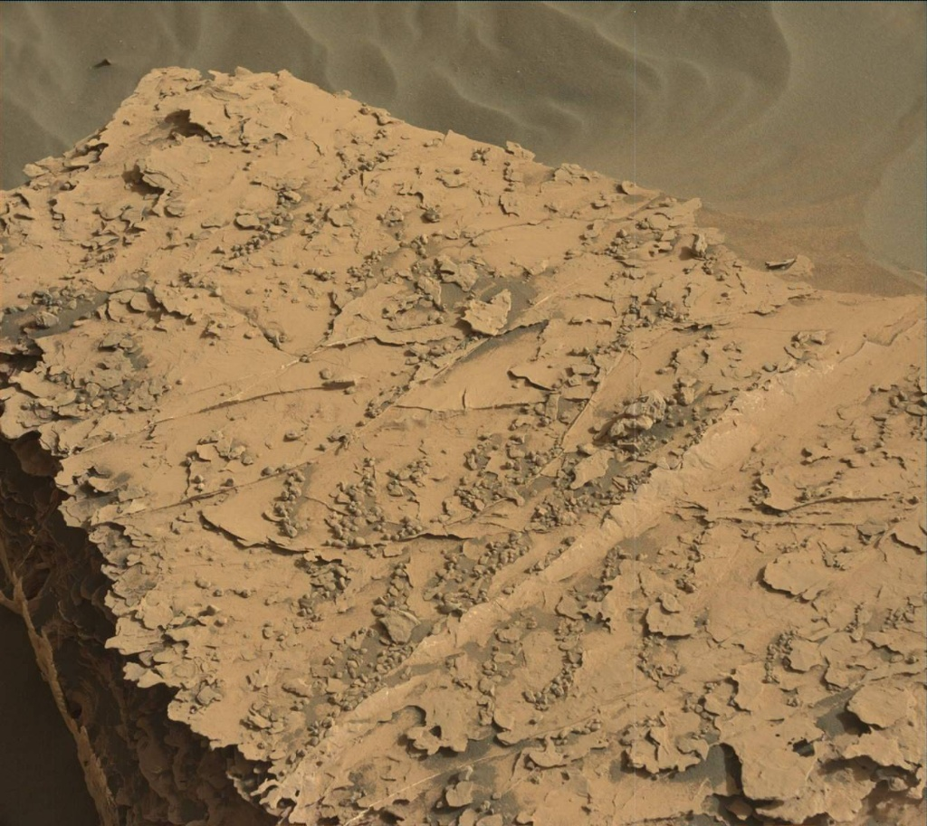 NASA's Mars rover Curiosity acquired this image using its Mast Camera (Mastcam) on Sol 2054