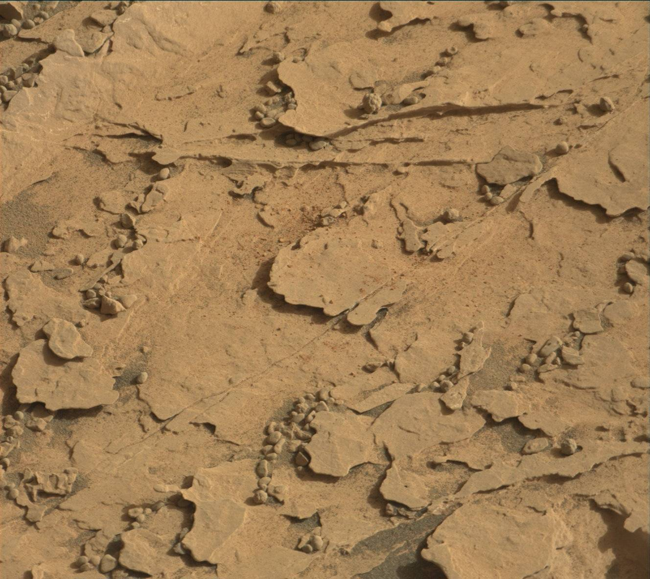 Sol 2063-2066: Sample drop-off testing