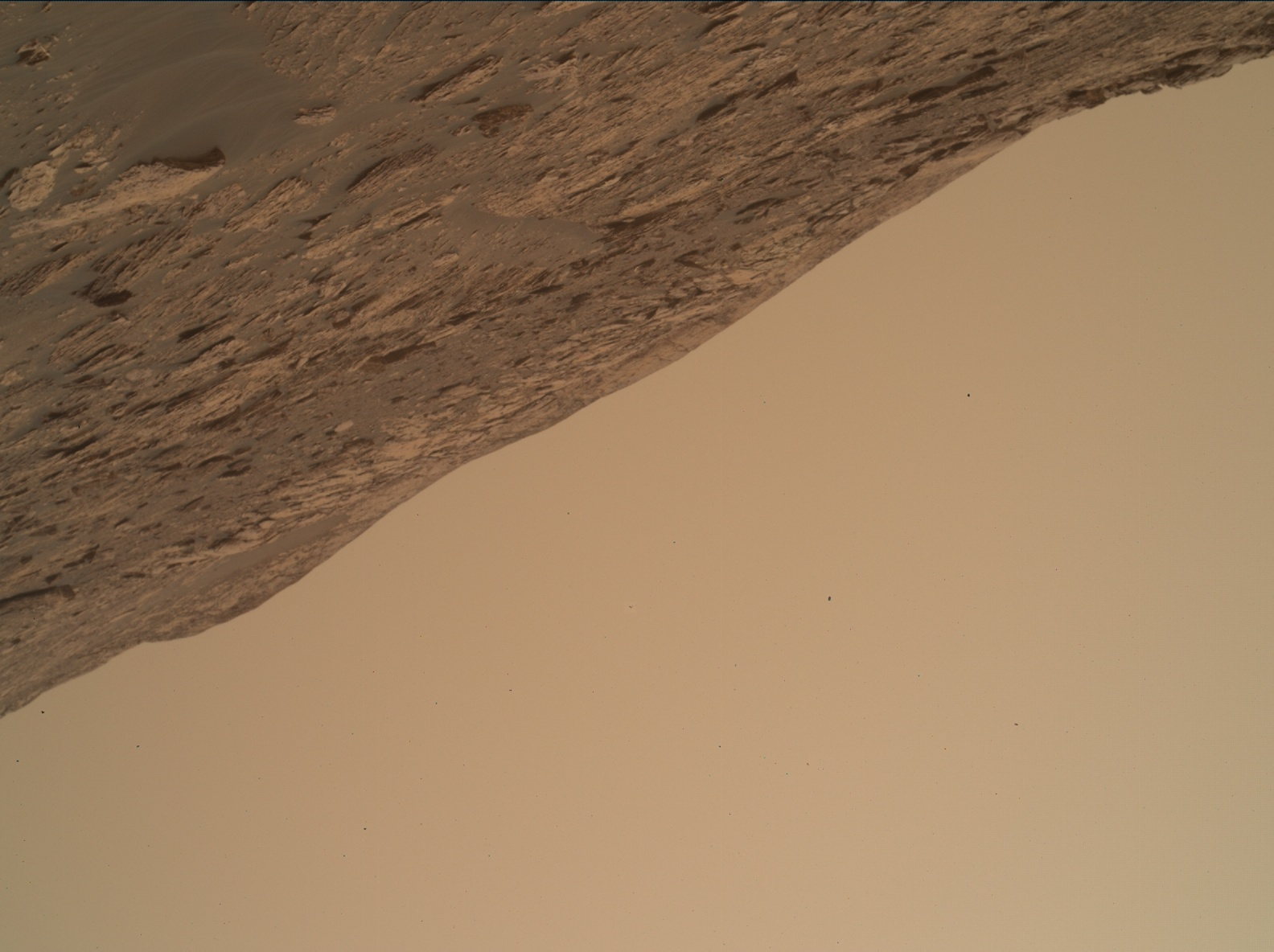 Nasa's Mars rover Curiosity acquired this image using its Mars Hand Lens Imager (MAHLI) on Sol 2082