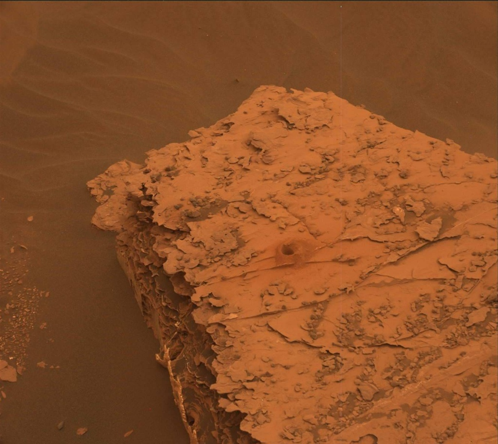 NASA's Mars rover Curiosity acquired this image using its Mast Camera (Mastcam) on Sol 2084