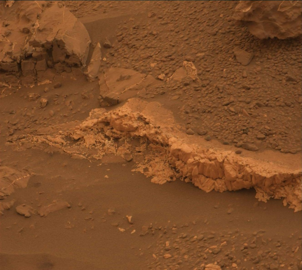 NASA's Mars rover Curiosity acquired this image using its Mast Camera (Mastcam) on Sol 2097