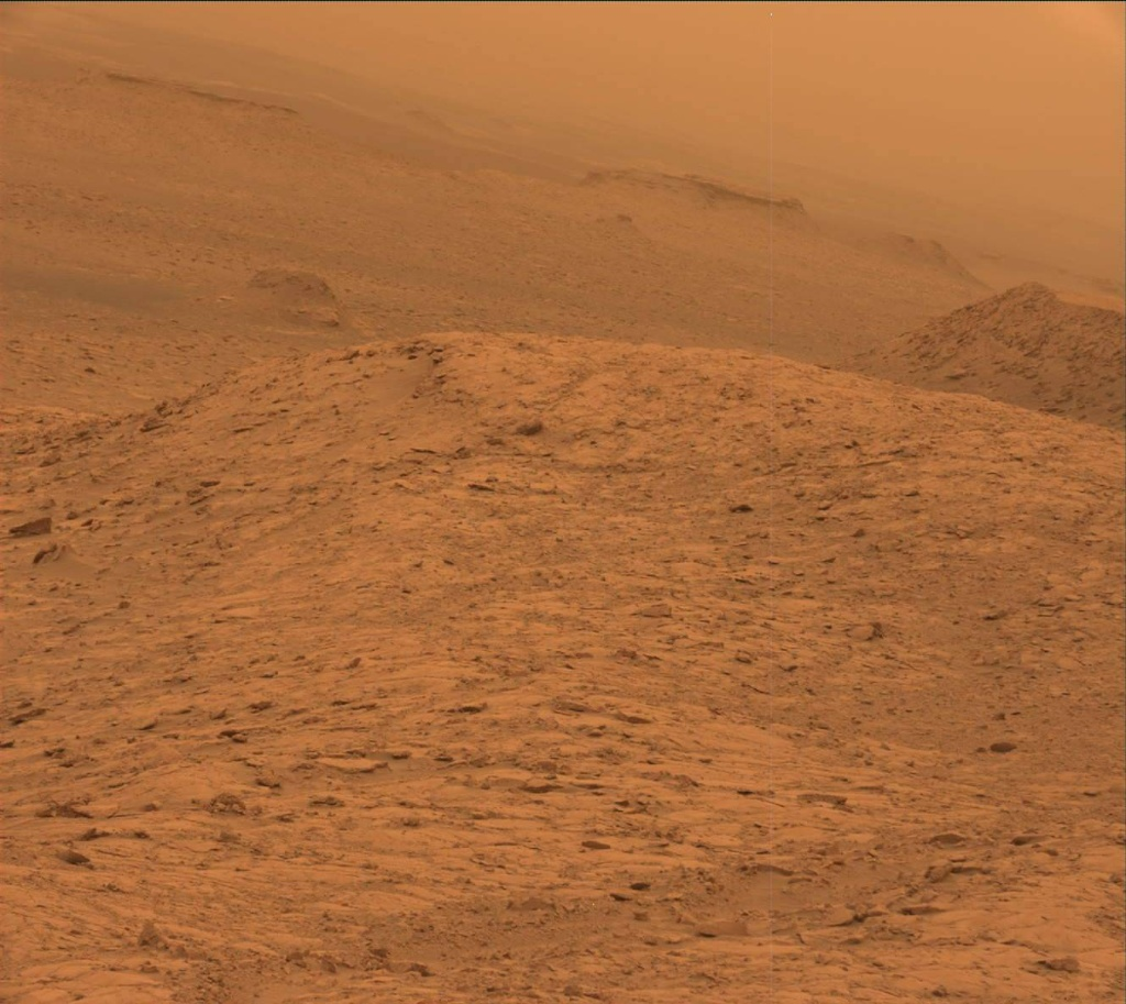 NASA's Mars rover Curiosity acquired this image using its Mast Camera (Mastcam) on Sol 2098