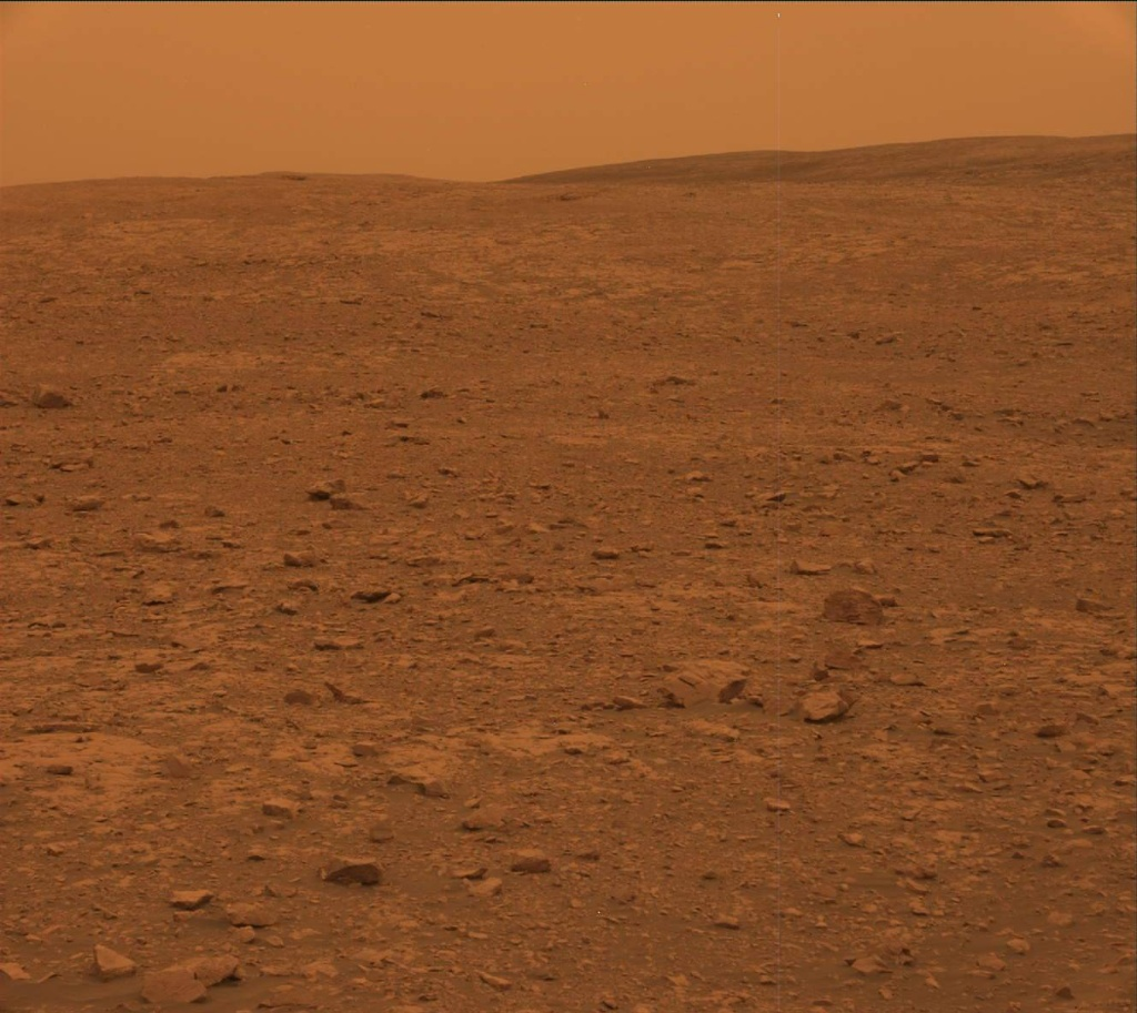NASA's Mars rover Curiosity acquired this image using its Mast Camera (Mastcam) on Sol 2104