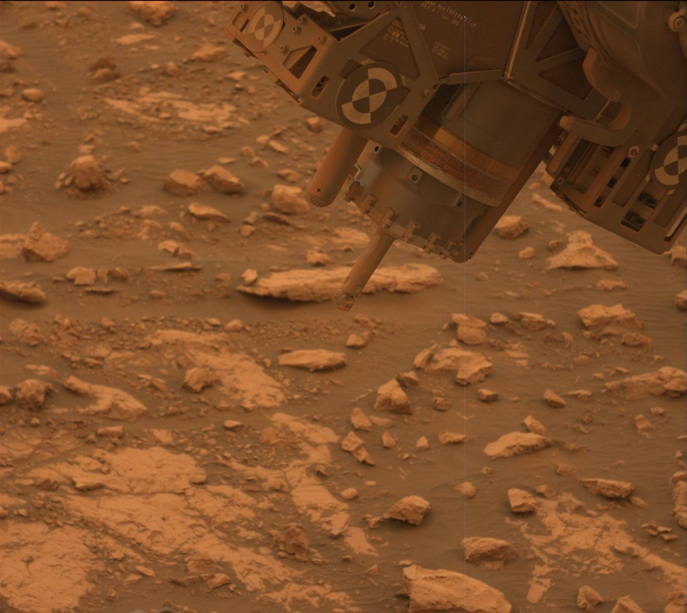 Nasa's Mars rover Curiosity acquired this image using its Mast Camera (Mastcam) on Sol 2113