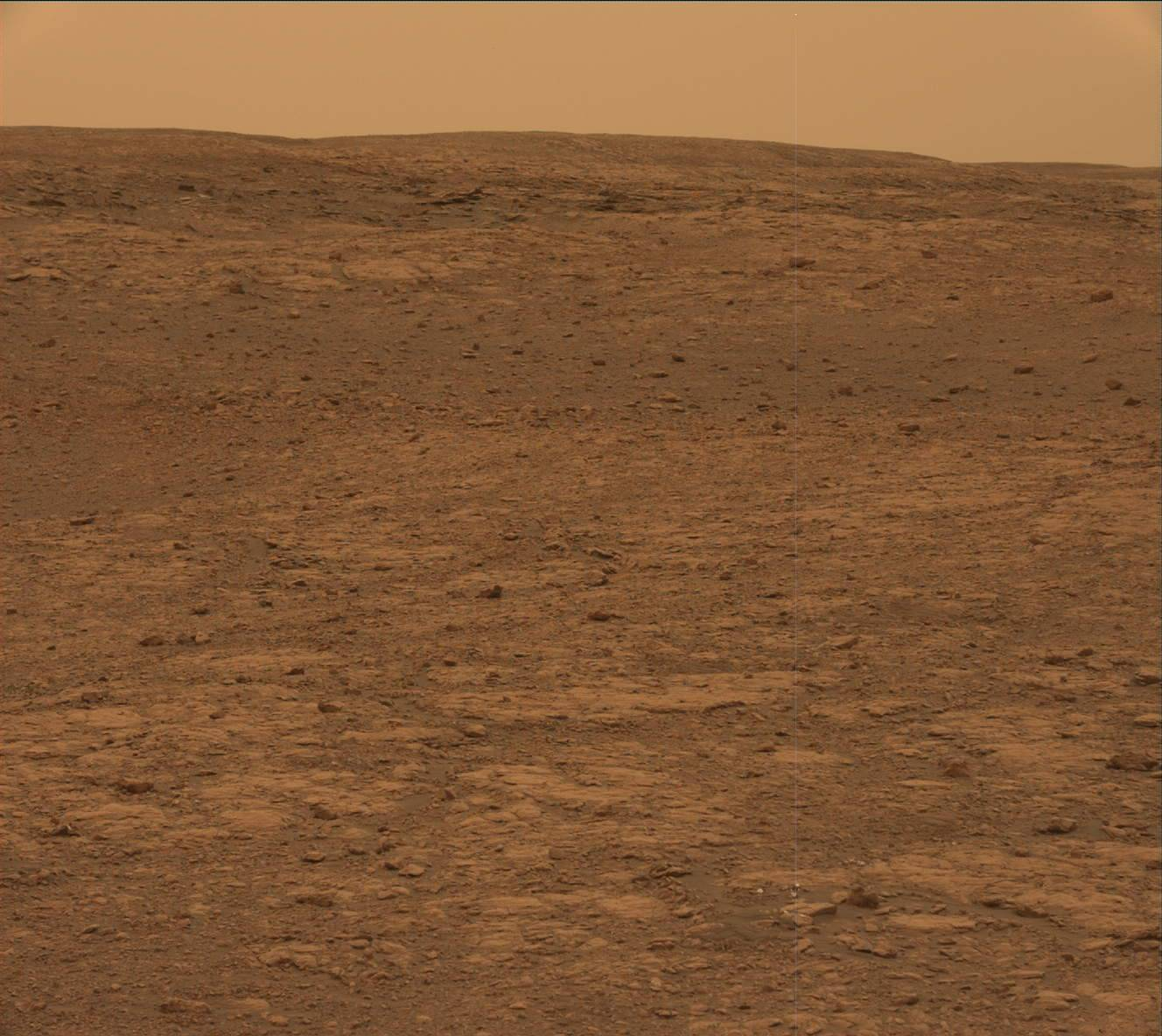 Nasa's Mars rover Curiosity acquired this image using its Mast Camera (Mastcam) on Sol 2115