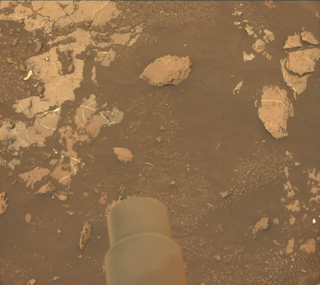 NASA's Mars rover Curiosity acquired this image using its Mast Camera (Mastcam) on Sol 2129