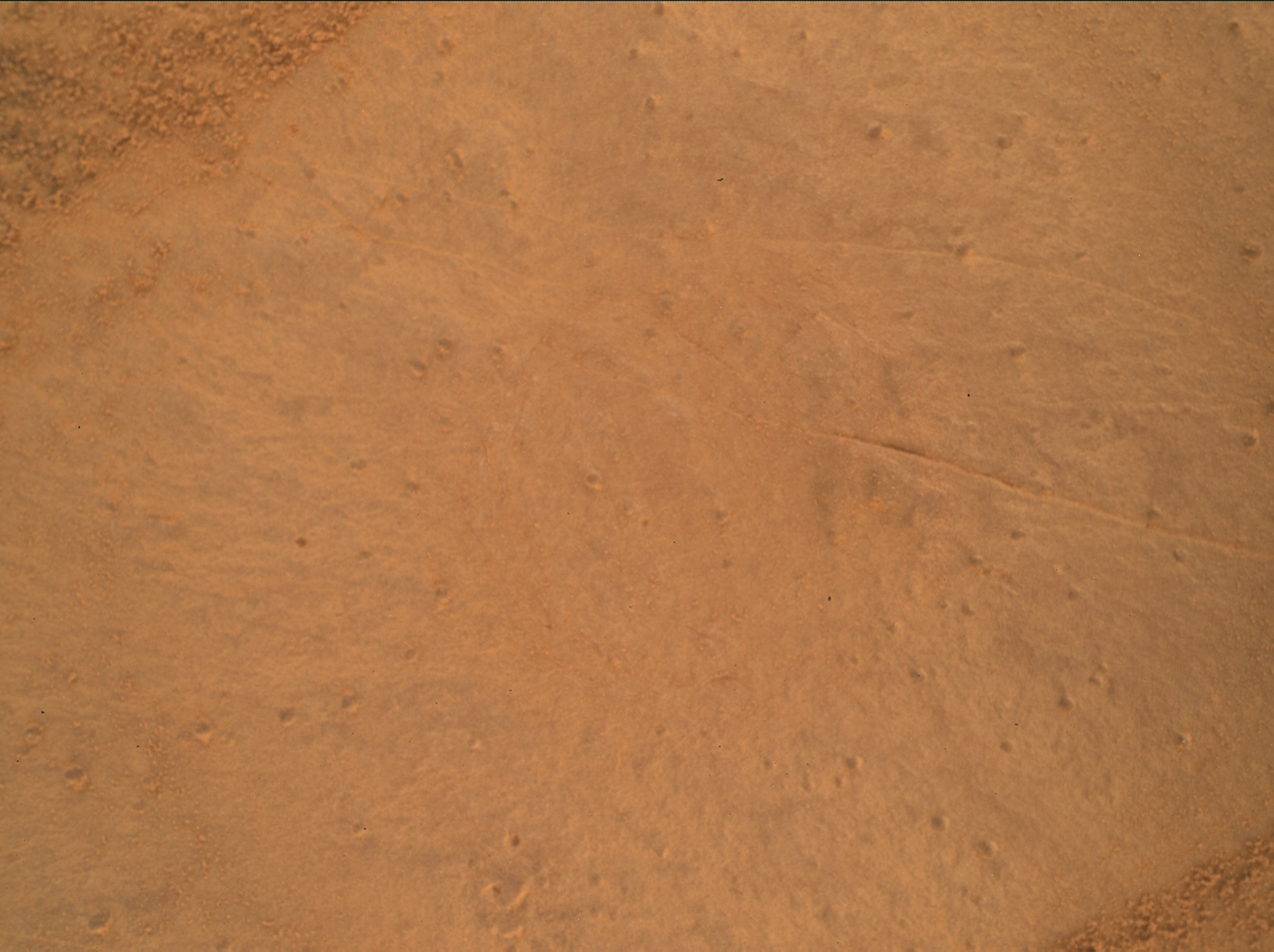 Nasa's Mars rover Curiosity acquired this image using its Mars Hand Lens Imager (MAHLI) on Sol 2134
