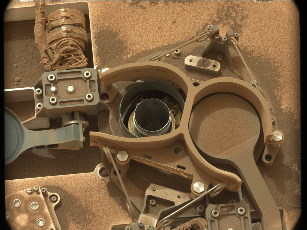 NASA's Mars rover Curiosity acquired this image using its Mast Camera (Mastcam) on Sol 2155