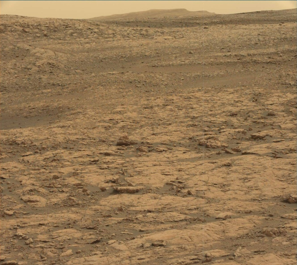 NASA's Mars rover Curiosity acquired this image using its Mast Camera (Mastcam) on Sol 2156