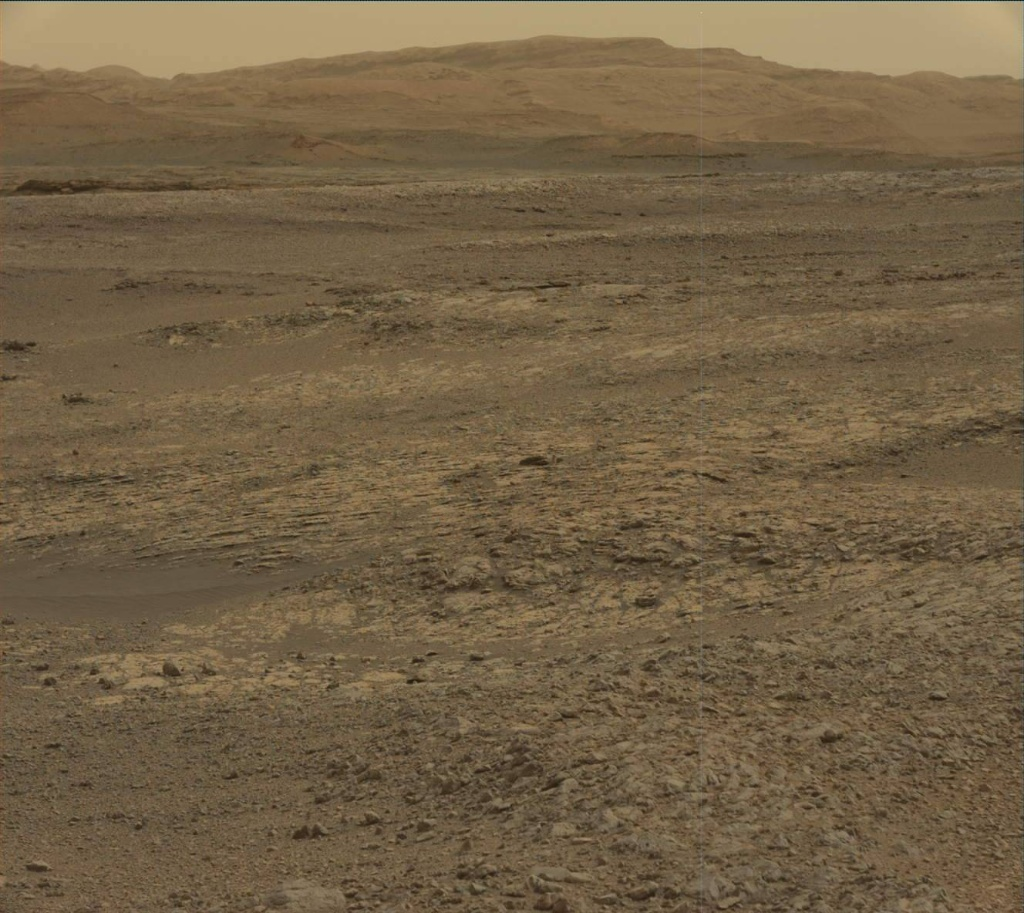 NASA's Mars rover Curiosity acquired this image using its Mast Camera (Mastcam) on Sol 2161
