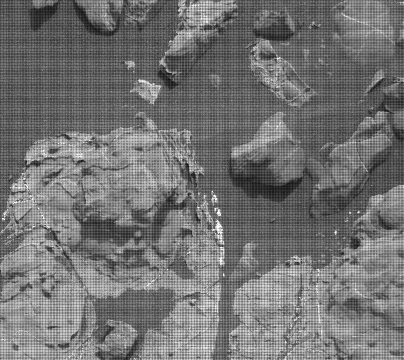 Nasa's Mars rover Curiosity acquired this image using its Mast Camera (Mastcam) on Sol 2165
