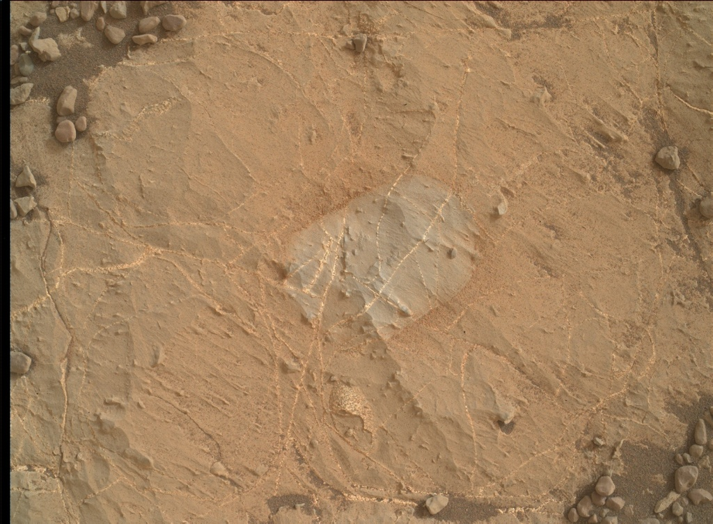 NASA's Mars rover Curiosity acquired this image using its Mars Hand Lens Imager (MAHLI) on Sol 2168