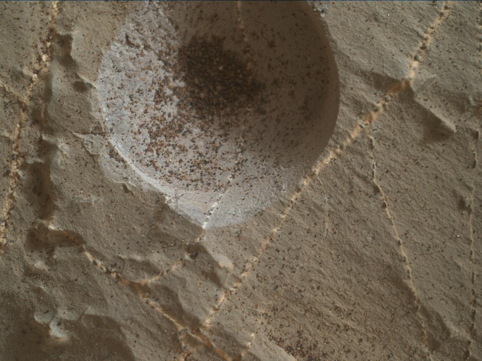 Image taken by Mars Hand Lens Imager