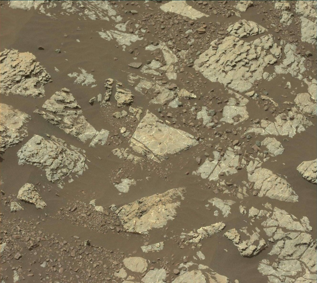 NASA's Mars rover Curiosity acquired this image using its Mast Camera (Mastcam) on Sol 2229