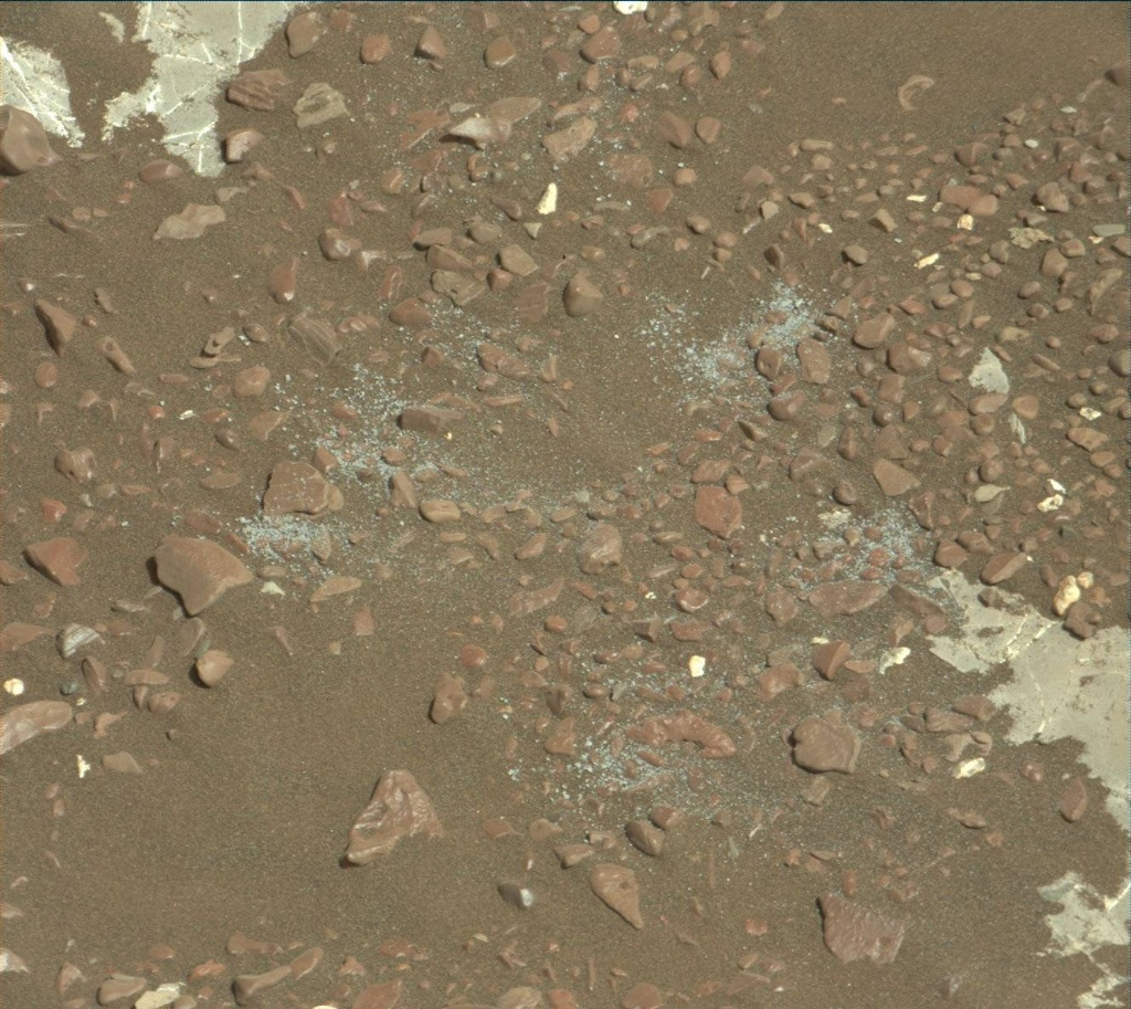 NASA's Mars rover Curiosity acquired this image using its Mast Camera (Mastcam) on Sol 2240